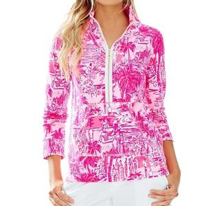 Lilly Pulitzer • EUC Pink Rule Breakers Popover